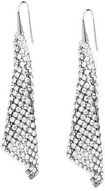 Swarovski NEW Fit Crystal Silver Shade Earrings