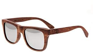 Earth Wood Hampton Wood Sunglasses Polarized Wayfarer