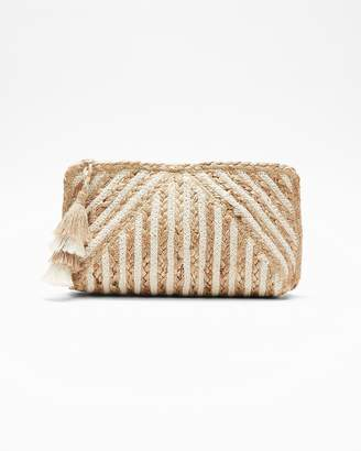 Express Shiraleah Braided Marinella Clutch