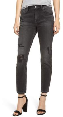 Blank NYC BLANKNYC Rivington Ripped High Waist Tapered Jeans