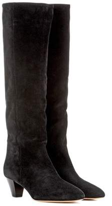 Isabel Marant Ranald knee-high suede boots 745yYAY