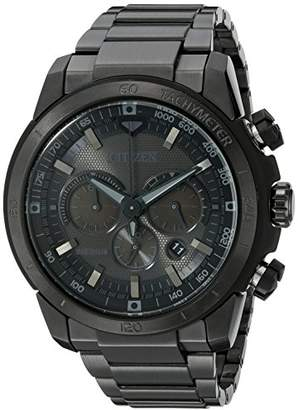 Citizen Men's Eco-Drive Chronograph Stainless Steel Watch with Date