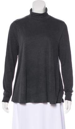The Great Mock Neck Knit Top