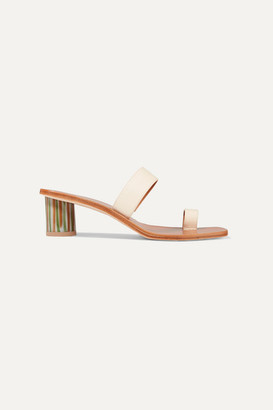 LOQ Tere Leather Sandals - Cream