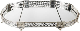 One Kings Lane Vintage French Silver-Plate & Mirror 3-Pc Tray