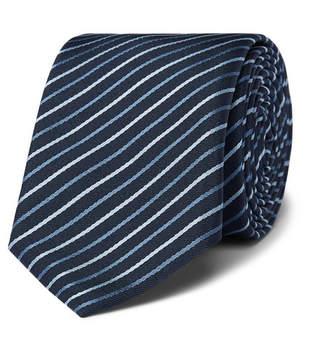 HUGO BOSS 6cm Striped Silk-Twill Tie