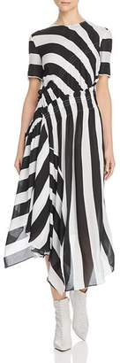 Preen Line Sida Striped Dress