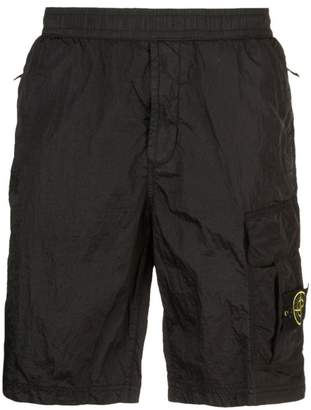 Stone Island nylon shorts