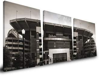 NCAA Paulson Designs 'NCAA' 3 Piece Photographic Print on Wrapped Canvas UNC Dean E. Smith Center