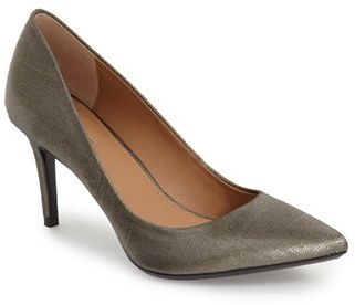 Women's Calvin Klein 'Gayle' Pointy Toe Pump $98.95 thestylecure.com