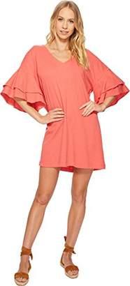 Lucky Brand Women's Ruffle Dress