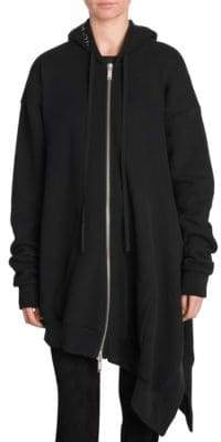 Taverniti So Ben Unravel Project Asymmetrical Terry Hoodie