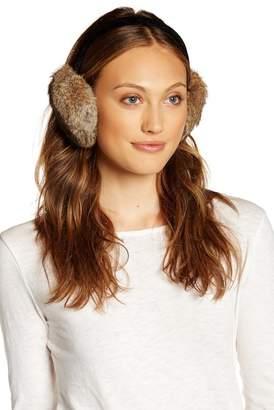 Surell Genuine Rabbit Fur Earmuff