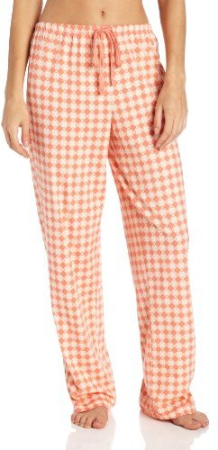 Nautica Sleepwear Women's Knit Brushed Cotton Geo Pant