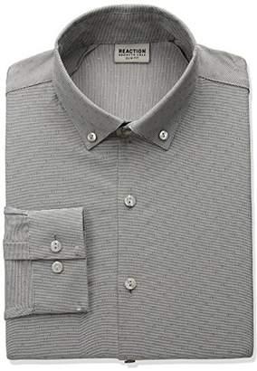 Kenneth Cole Reaction Men's Technicole Slim Fit Dress Shirt