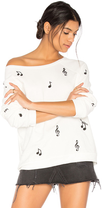 Lauren Moshi Noleta Music Notes Pullover $136 thestylecure.com