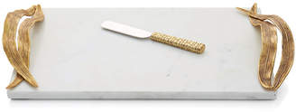 Michael Aram Palm Cheese Tray with Knife
