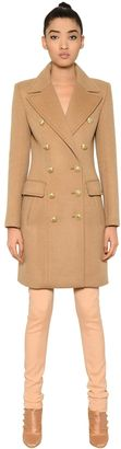 Double Breasted Wool & Cashmere Coat $3,382 thestylecure.com