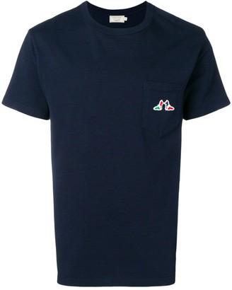 MAISON KITSUNÉ fox logo T-shirt
