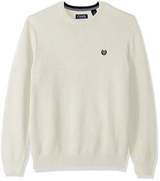 Chaps Men's Classic Fit Cotton Crewneck Sweater