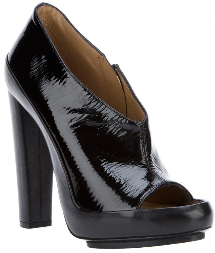 Balenciaga open toe shoe-boot
