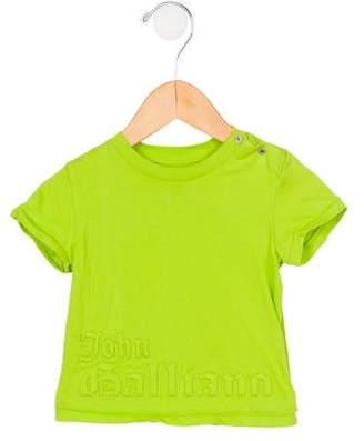 John Galliano Boys' Patterned Short Sleeve T-Shirt