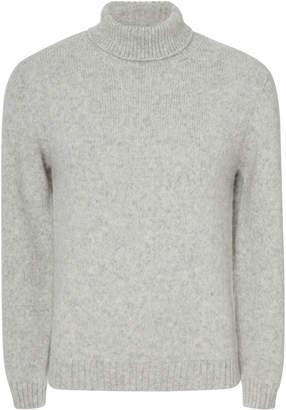 Privee Salle Leo Alpaca-Blend Rollneck Sweater