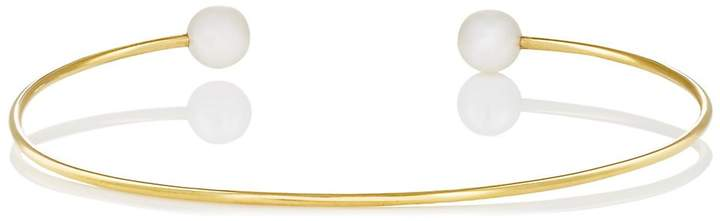 Finn Women's Diamond & Akoya Pearl Wire Cuff
