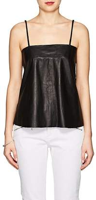 Zadig et Voltaire ZADIG ET VOLTAIRE WOMEN'S CALI LEATHER TANK TOP