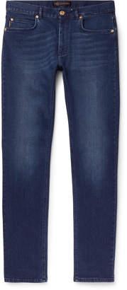 Versace Slim-Fit Stretch-Denim Jeans