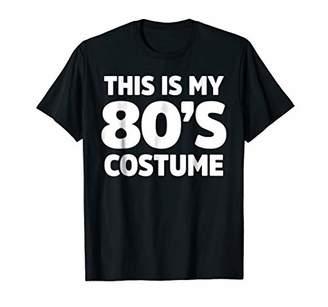 80s Costume Shirt for 1980s Clothing Tshirt for 80s Guy Girl