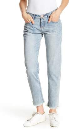 One Teaspoon Sunbleach Frayed Hem Baggie Jeans