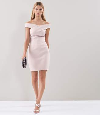 Reiss Darina Bardot Bodycon Dress