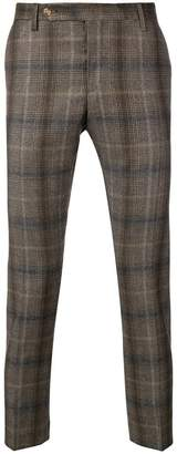 Entre Amis classic check trousers