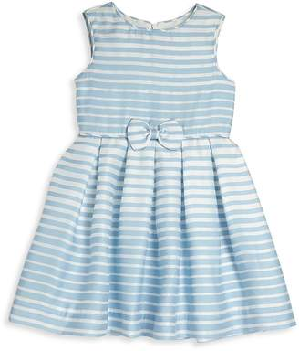 Rachel Riley Little Girl's & Girl's Striped Bow Party Dress