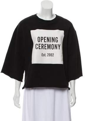 Opening Ceremony Graphic Print Pullover Sweatshirt