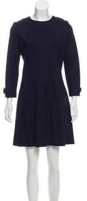 Tara Jarmon Long Sleeve Mini Dress