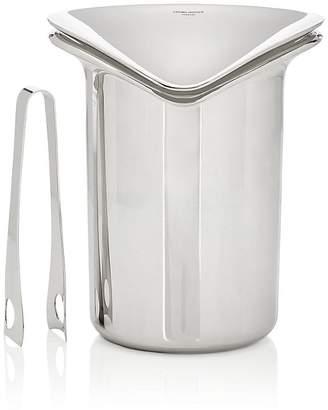 Georg Jensen Ice Bucket & Tongs Set