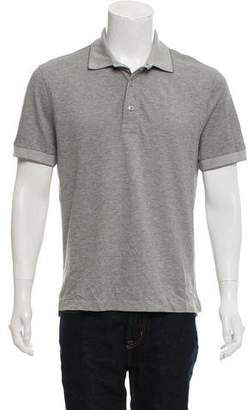 Tom Ford Button-Up Polo Shirt
