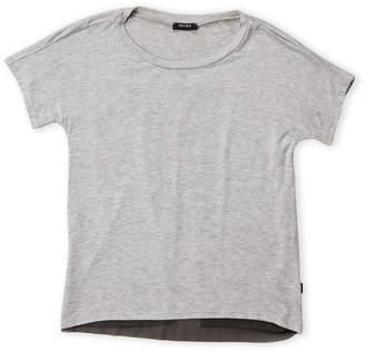 Zara Terez Girls 7-16) Grey Mesh Back Tee