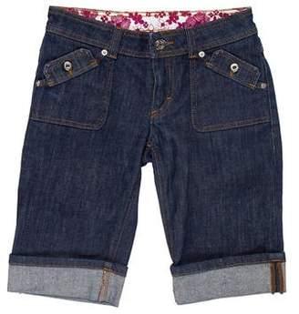 Dolce & Gabbana Low-Rise Knee-Length Shorts