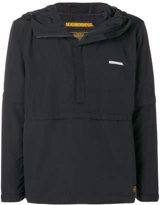 Neighborhood hooded half-zip jacket