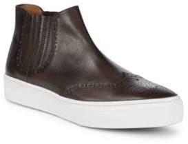 Bruno Magli Alessio Leather Chelsea Sneakers