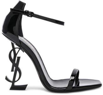 Saint Laurent Opium Leather Monogramme Sandals
