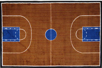 Fun Rugs Supreme Basketball Court Kids Rug Rug