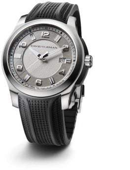 David Yurman Revolution 43.5Mm Stainless Steel Automatic Watch