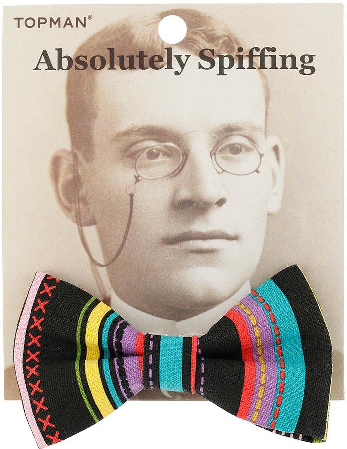 Bright Aztec Bow Tie