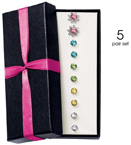 Avon Estelle 5-Pair Earring Gift Set