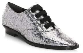 Marc Jacobs Brittany Glitter Oxfords
