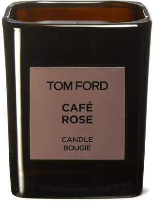 Tom Ford Grooming - Café Rose Candle, 200g - Dark brown